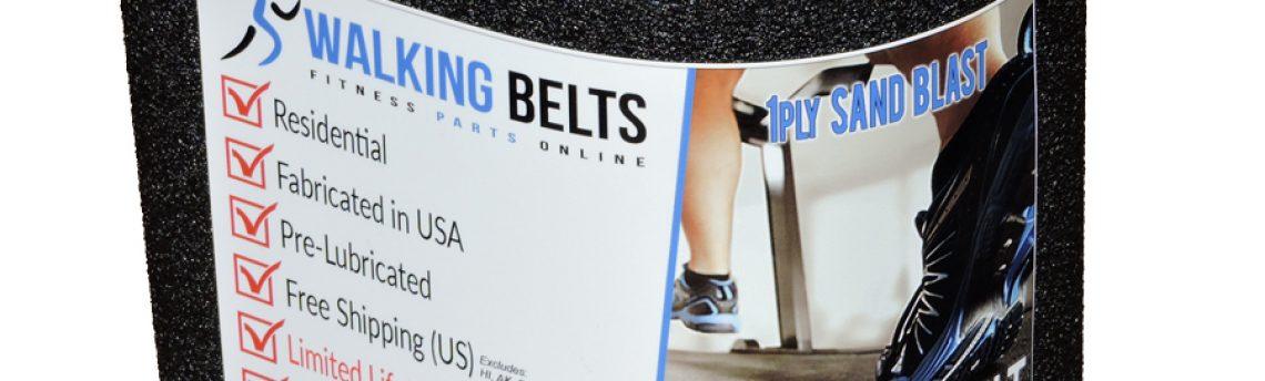 DTL15141 Proform 1200 Treadmill Running Belt 1ply Sand Blast + Free 1oz Lube